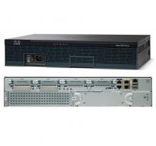 Cisco CISCO2911/K9 w/3 GE,4 EHWIC,2 DSP,1 SM,256MB CF,512MB DRAM,IPB